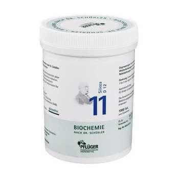 Biochemie Pflüger 11 Silicea D 12 Tabletten 1000 St Schüssler