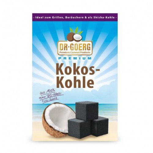 Dr. Goerg Premium Bio-Kokoskohle 1 kg - Kokosöl